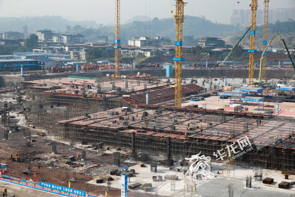 The project is expected to complete the capping of the main structure in April 2021.